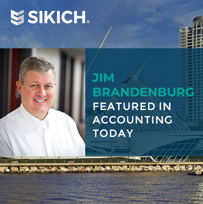 Jim Brandenburg in Accounting Today
