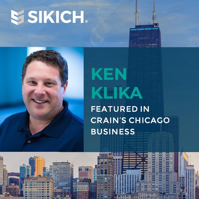 Ken Klika in Crain's Chicago