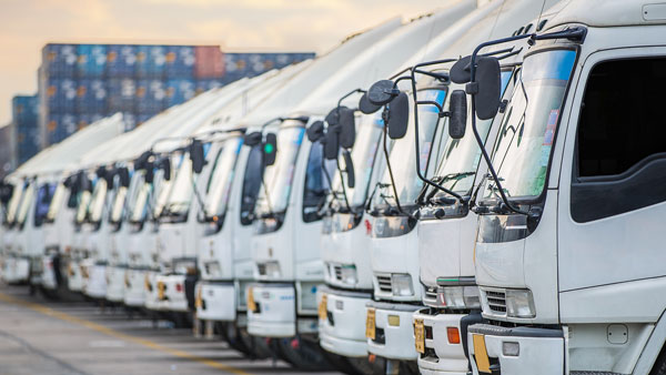 trucks for fleet management for the automotive industry