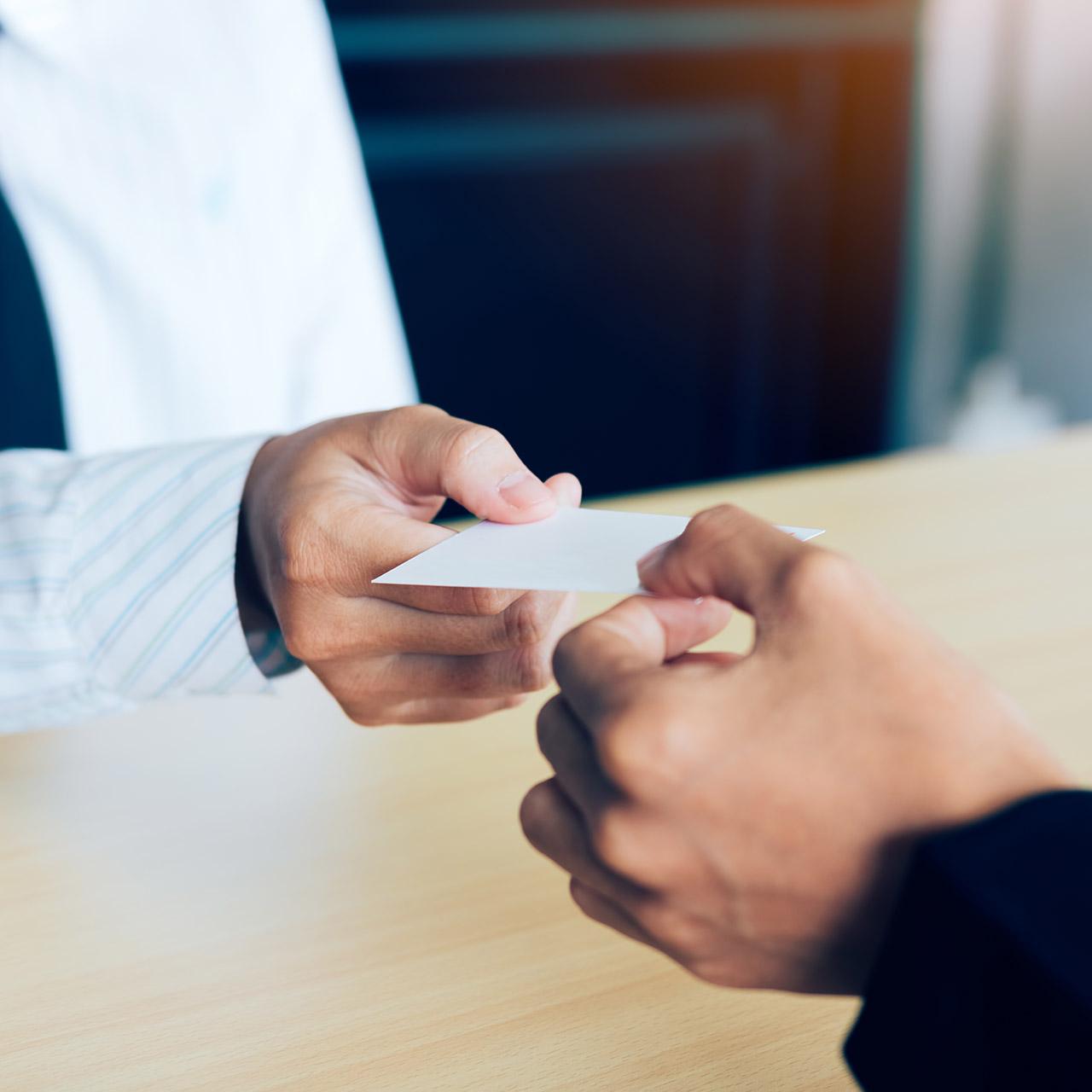 D365 business card scanning