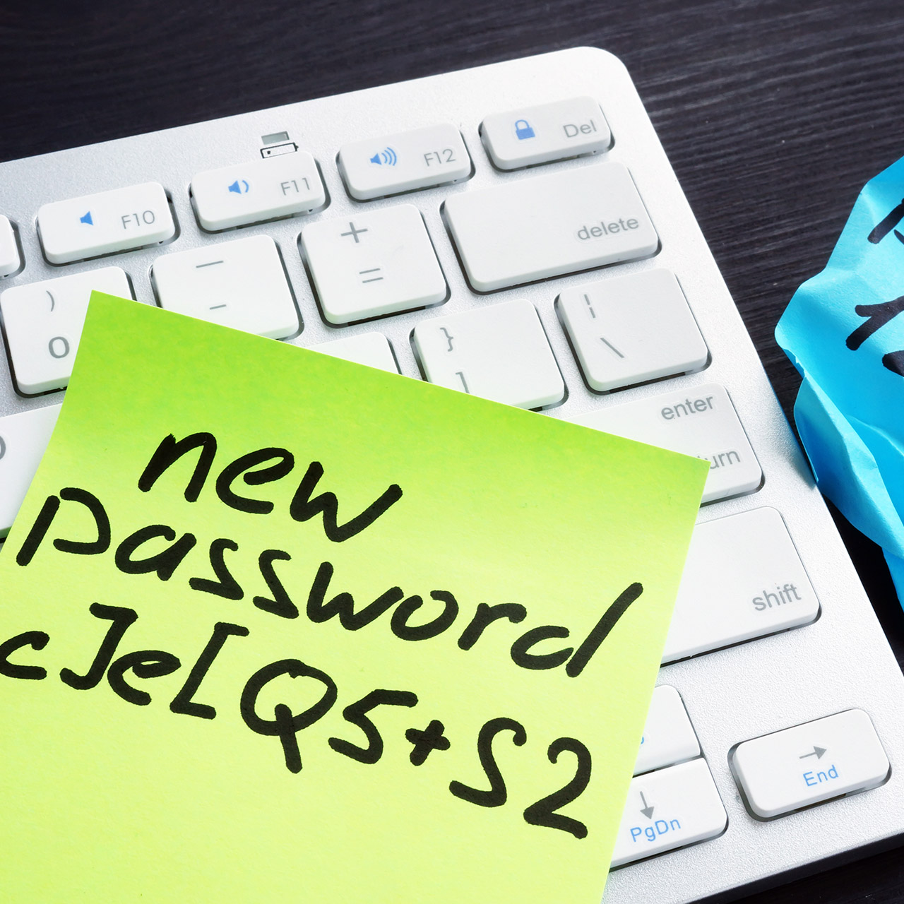 How to protect clear-text passwords