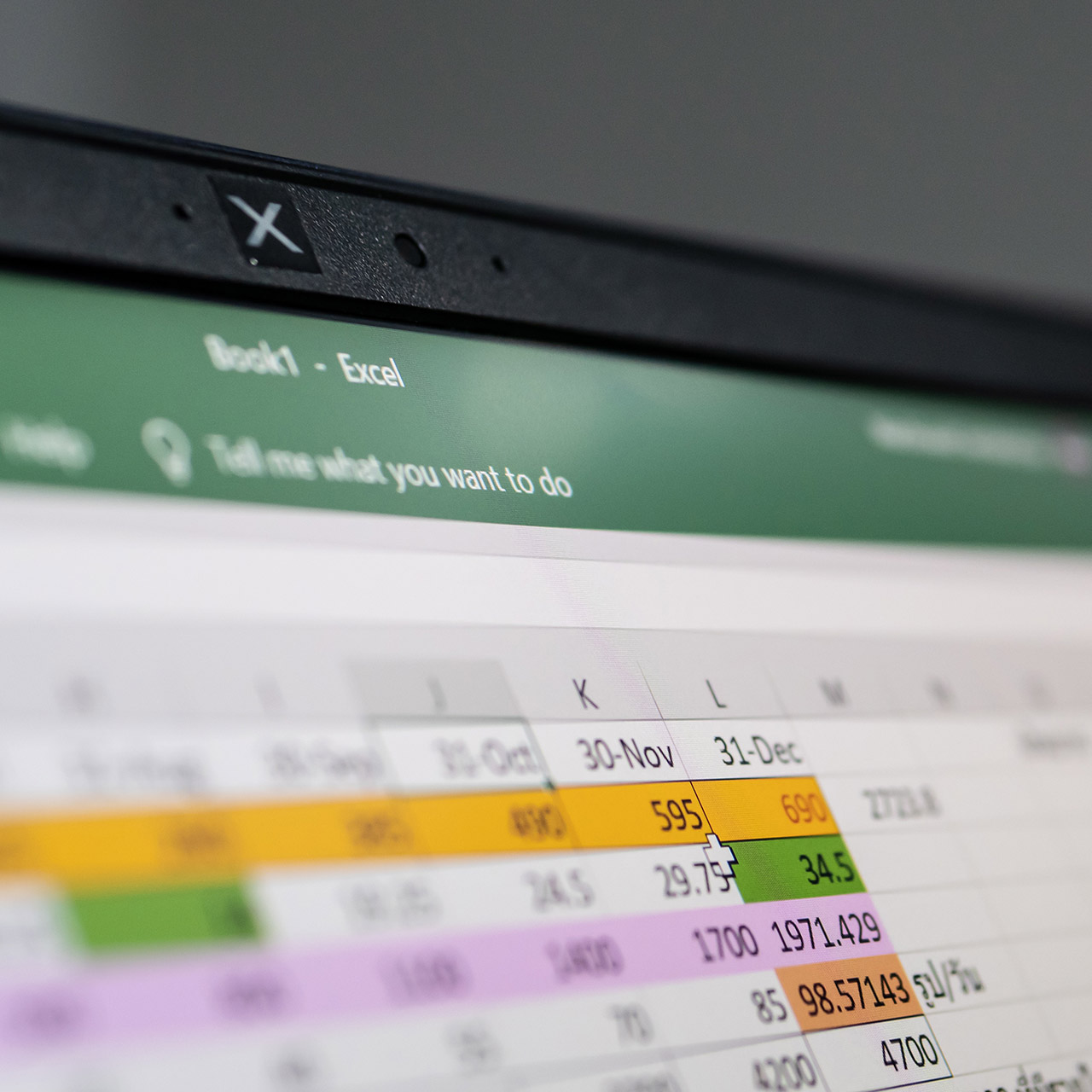 Excel financial reporting and planning